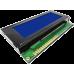 TCL29B-2004XX-1 Series White/Blue Character LCD