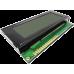 TCL29B-2004XX-1 Series Dark Blue/White Green Character LCD