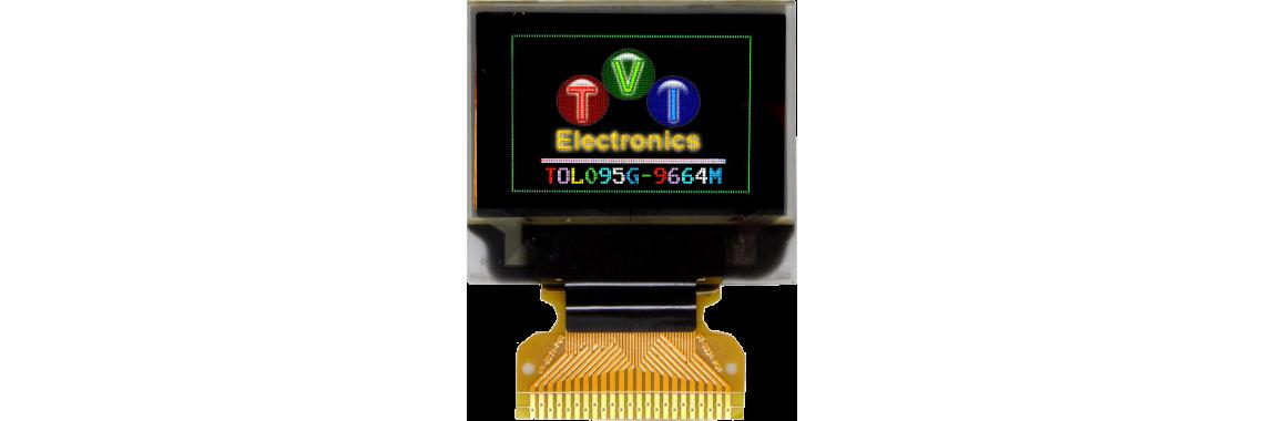 TOL095G-9664 Series RGB OLED Graphic LCD